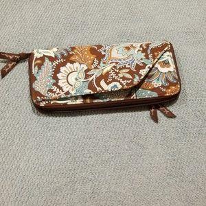 Retired Vera Bradley Large Wallet
